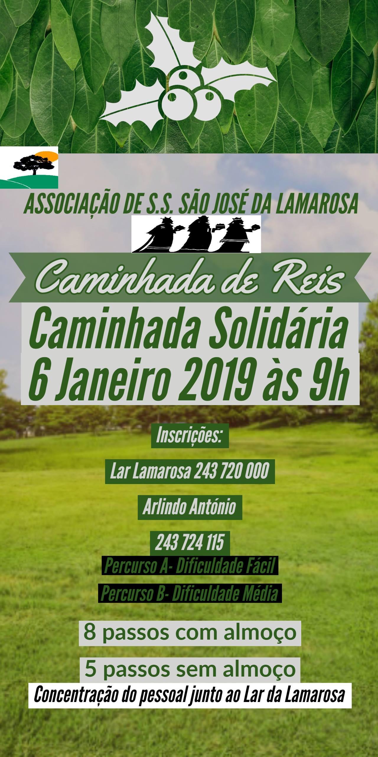 Caminhada Solidária  – Associação de Solidariedade Social de São José da Lamarosa
