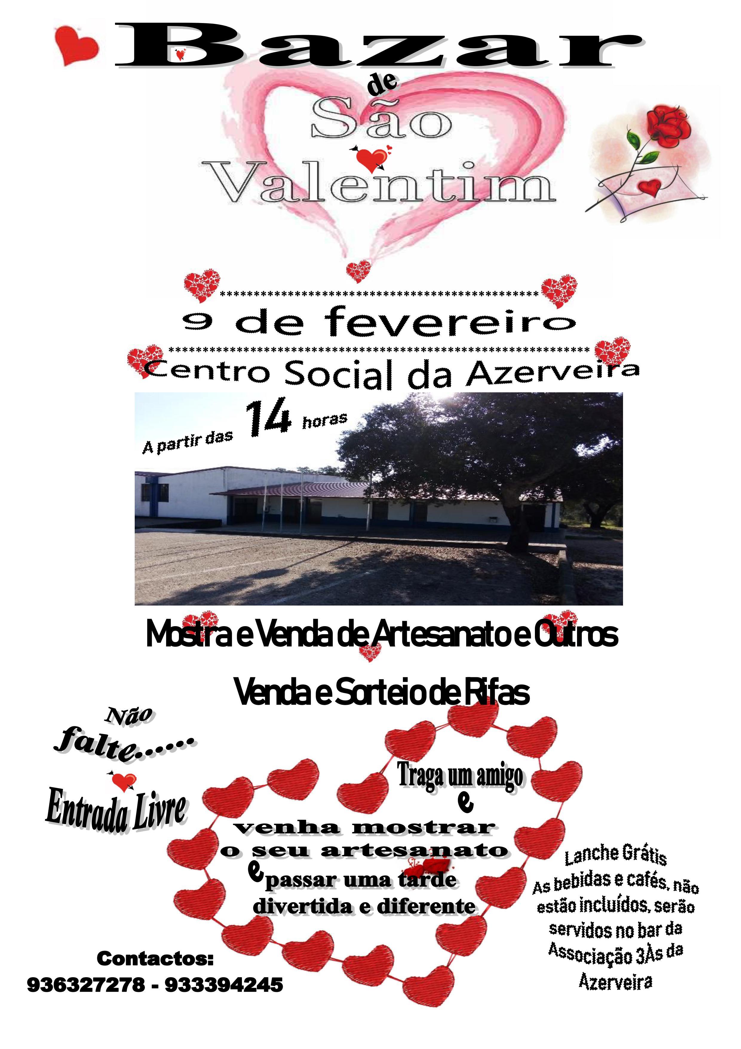 Bazar de São Valentim – Azerveira