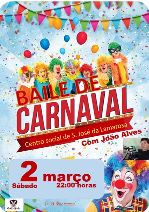 Baile de Carnaval – Águias da Lamarosa